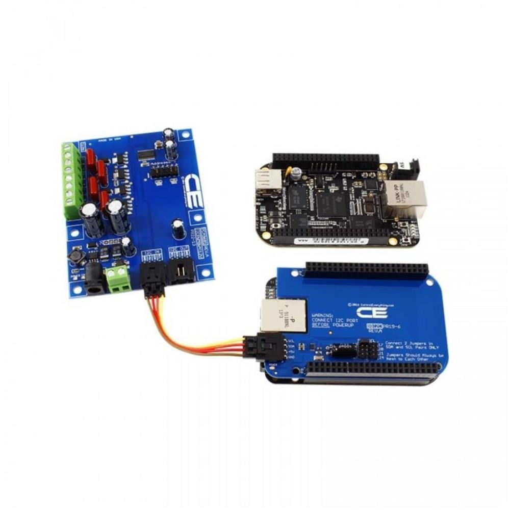 PCA9685 4チャンネル 8W 12V FET ドライバー比例弁コントローラ I2Cインターフェース付き