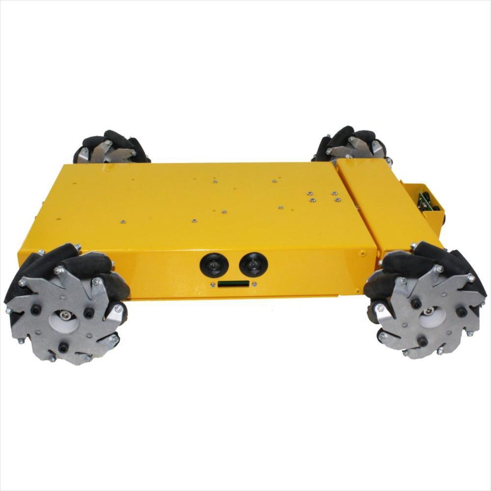 4WD Arduino互換 メカノームロボットキット