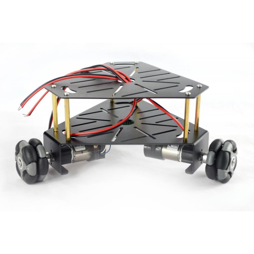 3WD 48mm全方向トライアングル移動ロボットシャーシ