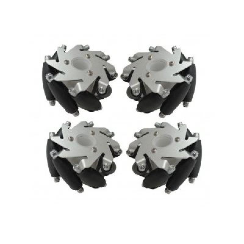 Mecanumホイール4個(LEGOブロックと互換性があります)