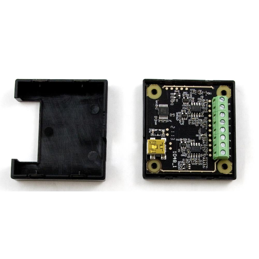 Phidg??et 温度センサ 4入力USB熱電対インターフェース エンクロージャ付き