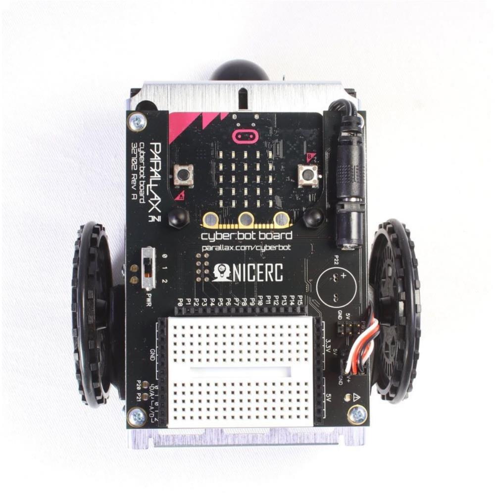 cyber:bot ロボットキット (micro:bit付属)