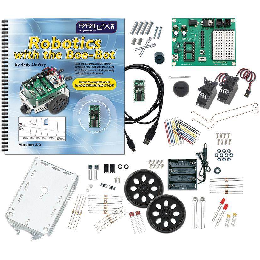 Parallax Boe-Botロボットキット - USBバージョン