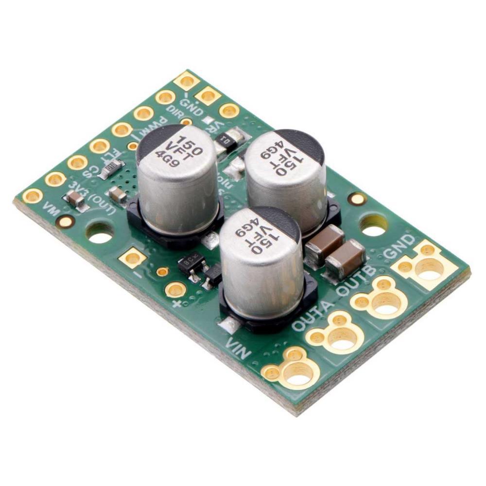 Pololu G2ハイパワーモータドライバ25A、6.5V-30V
