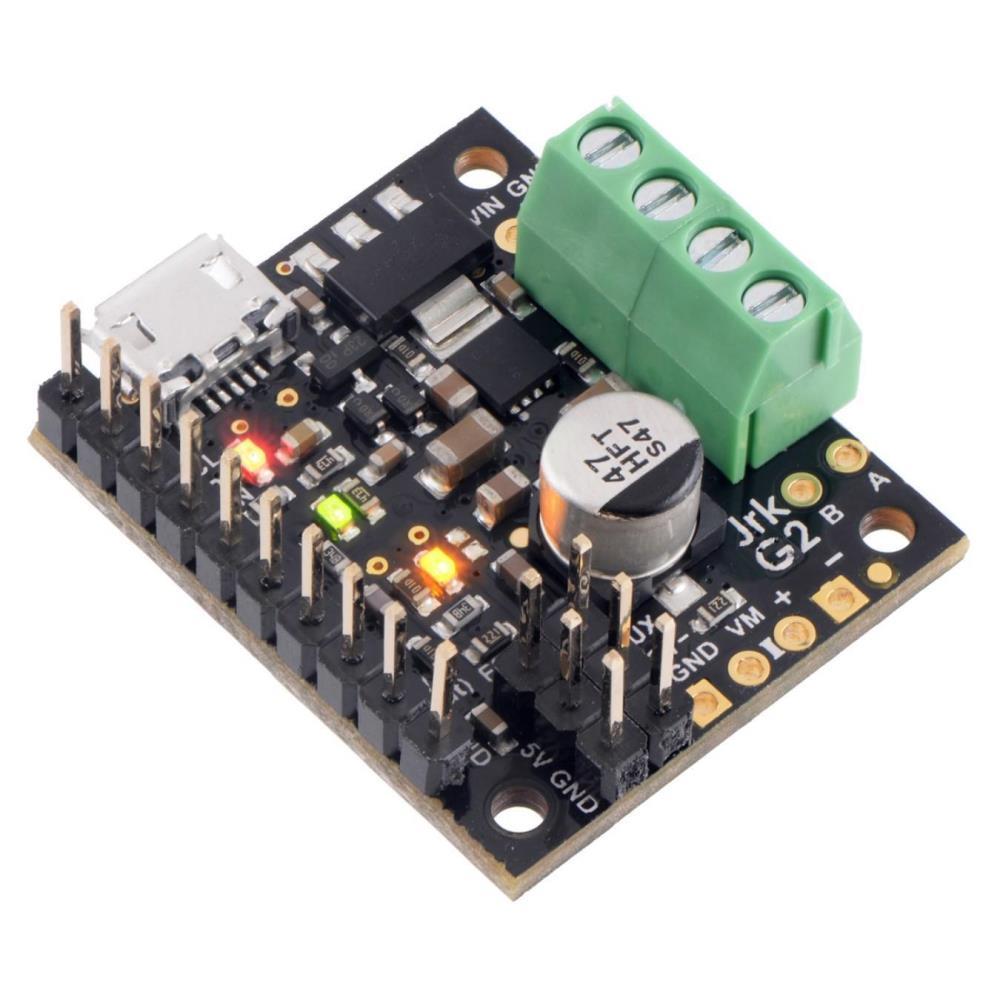 Pololu Jrk G2 2.6A 4.5-28V USBモータコントローラ、フィードバック付き(組み立て済み)