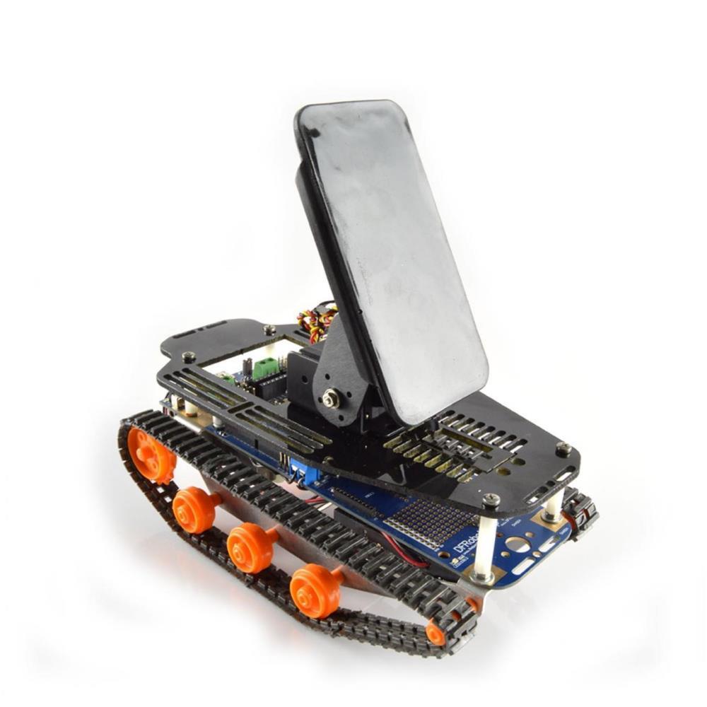 DFRobotShopローバーV2 売り込み マーケティング - Arduino互換トラック型ロボット スマートフォン用キット