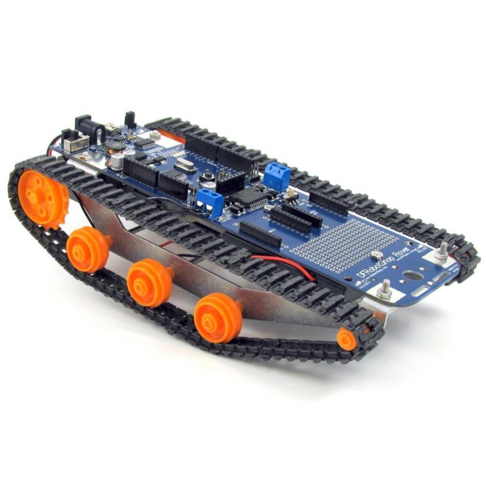 DFRobotShopローバーV2 - Arduino互換追跡ロボット(基本キット)
