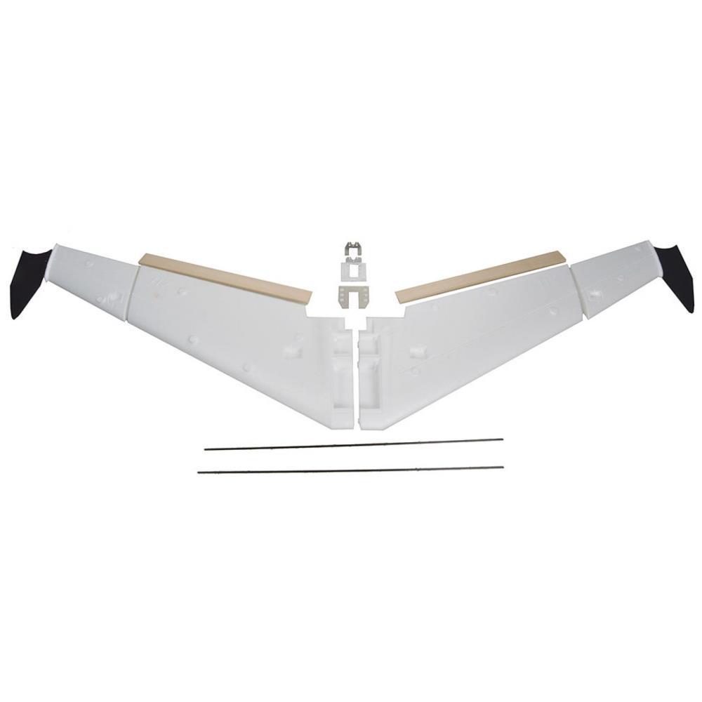 """81""""ZXL UAV発泡スチロールフライングウィングフレームキット"""