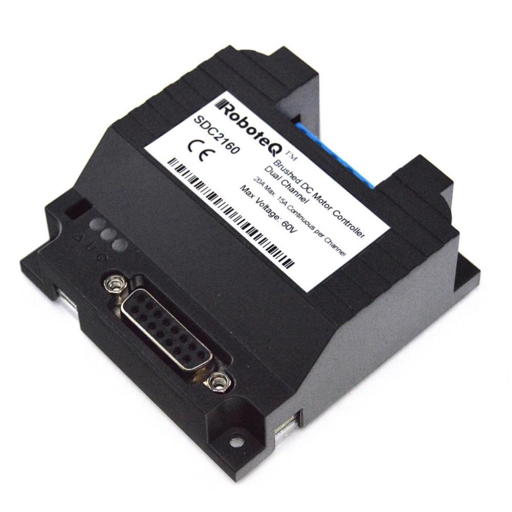 RoboteQ SDC2160 - 2x20A 7V-60V ロボット コントローラー