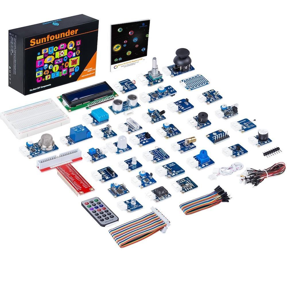 Raspberry Pi用Sunfounder 37モジュールセンサキットv2