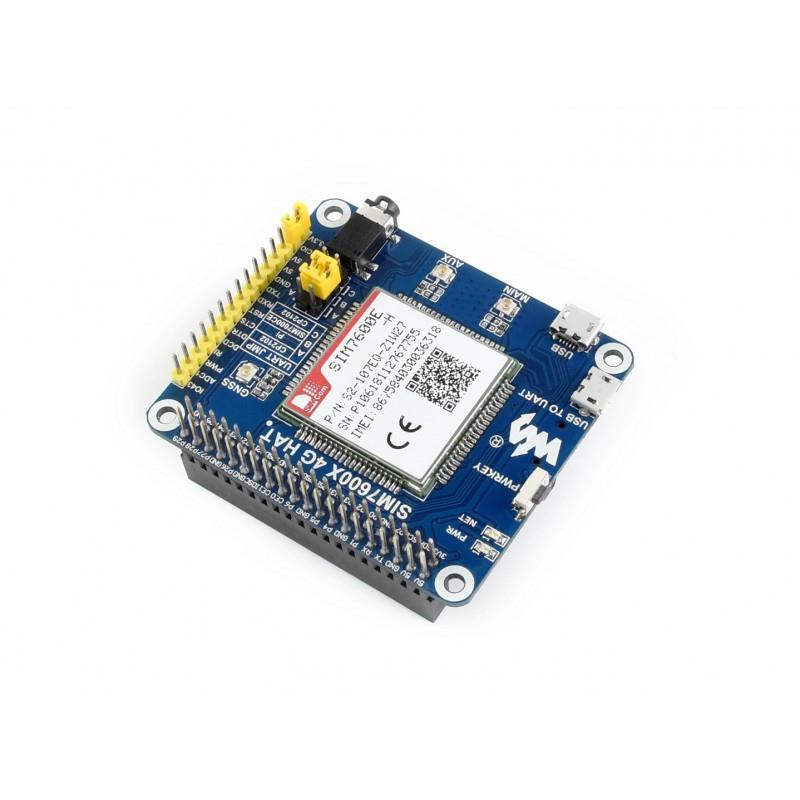 Raspberry Pi用 4G/3G/2G/GSM/GPRS/GNSS HAT