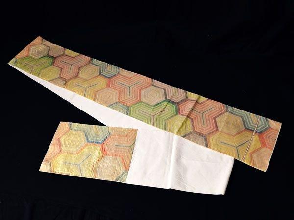 HS25998M★西陣川島織物 昆沙門亀甲紋 袋帯 和装 着物 和服