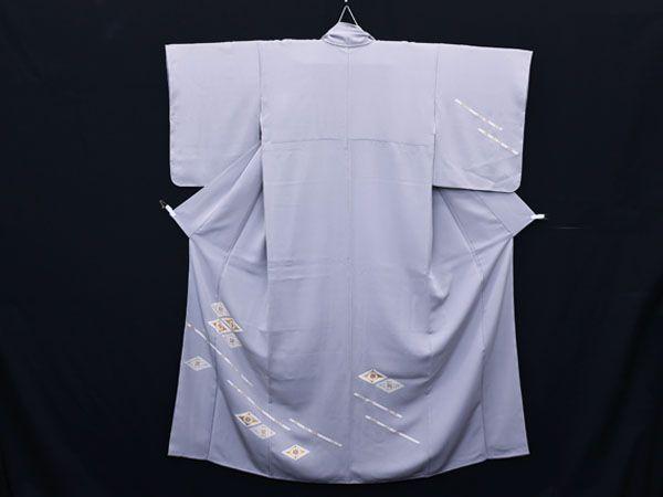 HS26216M★本加工 吉祥紋 付下 着物 訪問着 和装 和服 正絹 未使用
