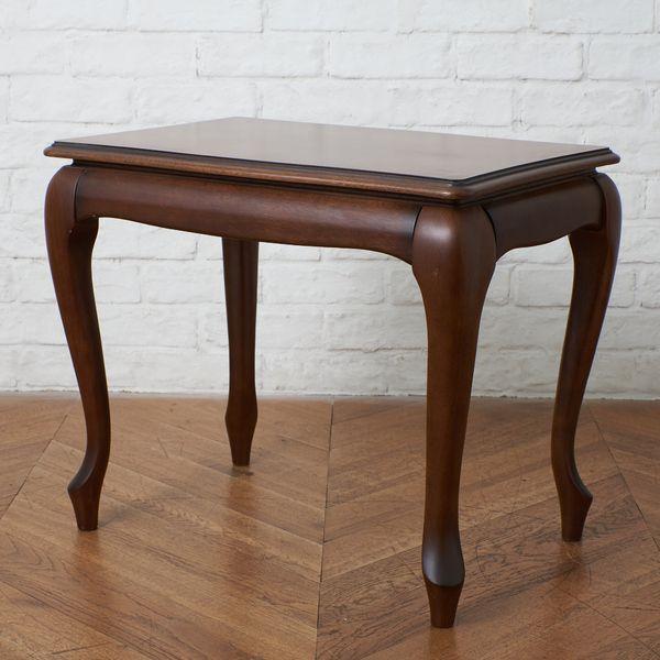 IZ40656I★マルニ マキシマム サイドテーブル 猫脚 クラシック ロココ 英国 アンティーク スタイル ナイトテーブル 花台 木製 W60cm maruni