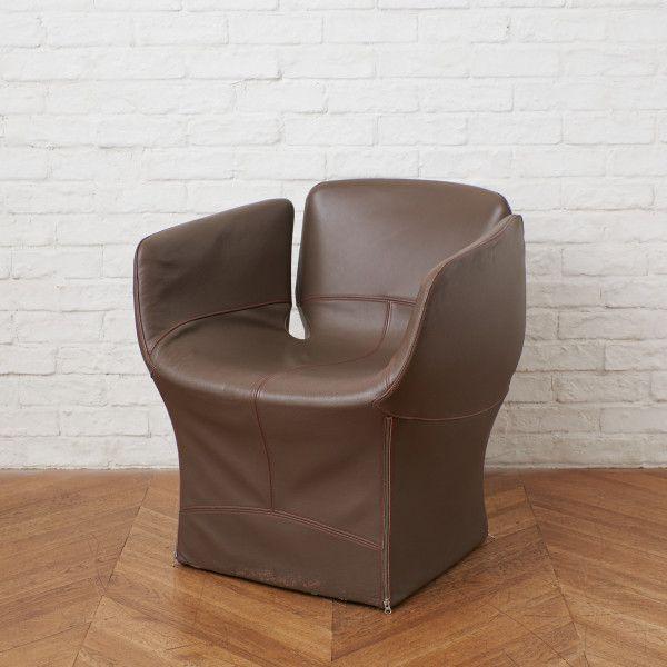 日本製 アンティーク ヴィンテージインテリアショップRoccaより厳選されたセレクトアイテムをお届け IZ50485F MOROSO 国内即発送 ブルーミー アームチェア 本革 シングルソファ イタリア モダン モローゾ Patricia ラウンジチェア BLOOMY 椅子 Urquiola