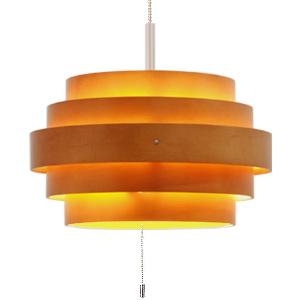 ■ RING (rings) pendant light L Brown (LED lighting ceiling lighting Scandinavian ceiling light pendant light living Cafe interior lighting lighting fixtures wood wood)