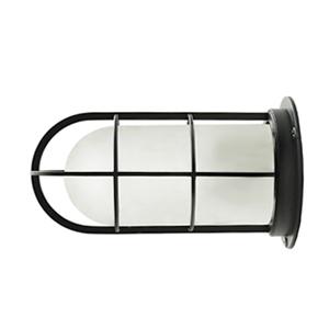 【送料無料】NAVE-DK-BS デッキライト ブラック(つや消しガラス)(船舶 マリンランプ LED対応 玄関 インダストリアル 壁付け 天井 横向き インテリア 海 サーフ 屋外 玄関灯 ブラケットライト 外灯 門灯 店舗 防雨型 防湿型)照明