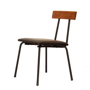 【送料無料】VIT チェアダイニングチェア インダストリアル 工業 モダン 家具 アンティーク アイアン 鉄 木目 天然木 パイン無垢材 ナチュラル 椅子 いす