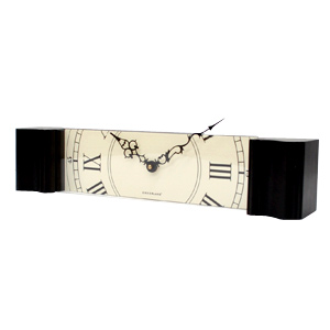 Sliced Grandfather Clock slide House DETAIL timepiece clock classic vintage antique classic kikkerland quicker land-luxury +-