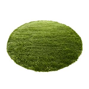 【送料無料】GRASS RUG(グラスラグ) Ф150 (円形 丸型 マット リアル 芝生のラグ シンプル 北欧 ナチュラル ホットカーペット対応 シャギーラグ リビング ダイニング 玄関 緑 グリーン 自然 ナチュラル ラウンド カジュアル 草原 ラグマット 敷物 インテリア)
