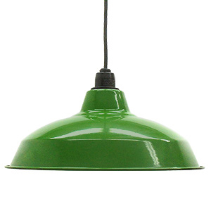 Retro enamel lamp 14 inch green (enamel, enamel, and better lighting would, enameled and lighting, ceiling lighting, Cafe and Nordic and sealing ceiling light interior lighting, living dining Cafe )