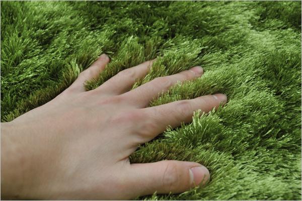 carpet grass. grass rug (グラスラグ) Ф 150 (real-grass rugs, round, round carpet grass