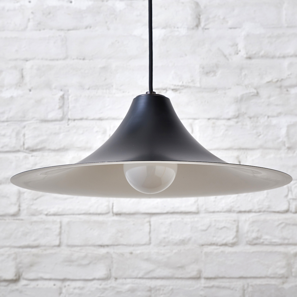 Rona ロナ M Black Pendant Light Cord 1 000mm Led Interior Lighting Ceiling North Europe Modern Design Frontal Pull Out Lamp