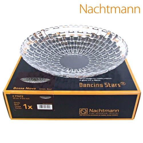 170年以上の歴史を誇るクリスタル製造 Nachtmann ナハトマン BOSSA 店舗 NOVA 77672 店舗 ボサノバ ボウル 25cm