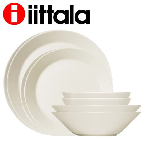 iittala イッタラ ティーマ TEEMA スターターセット ホワイト 16点セット