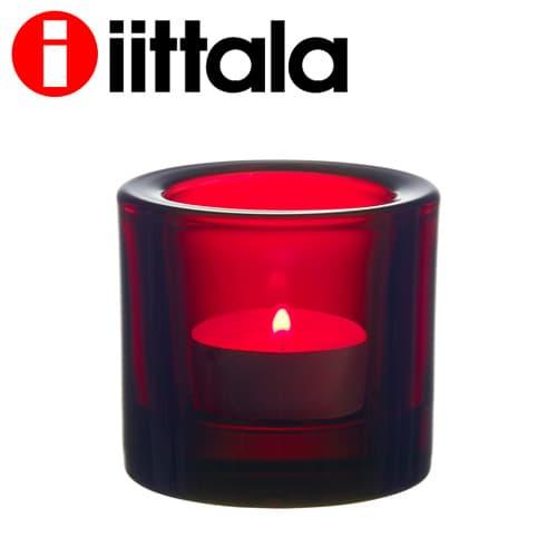 北欧デザインを象徴するフィンランドの大人気ブランドiittala iittala イッタラ Kivi キビ 一部地域除く クランベリー お得 60mm キャンドルホルダー 送料無料 セール価格