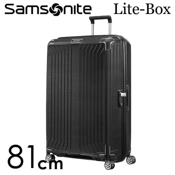 サムソナイト ライトボックス スピナー 81cm ブラック Samsonite Lite-Box Spinner 124L 79301