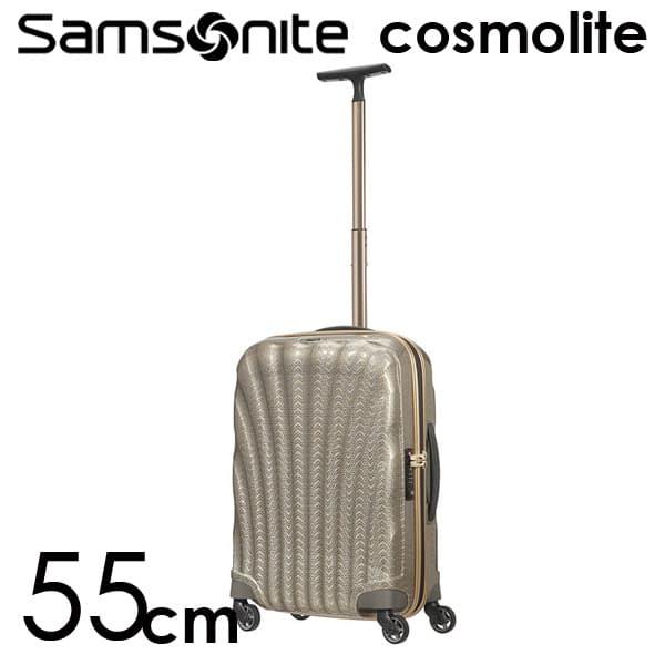 サムソナイト コスモライト3.0 スピナー 55cm ゴールドシルバー Samsonite Cosmolite 3.0 Spinner 105122-6719 36L