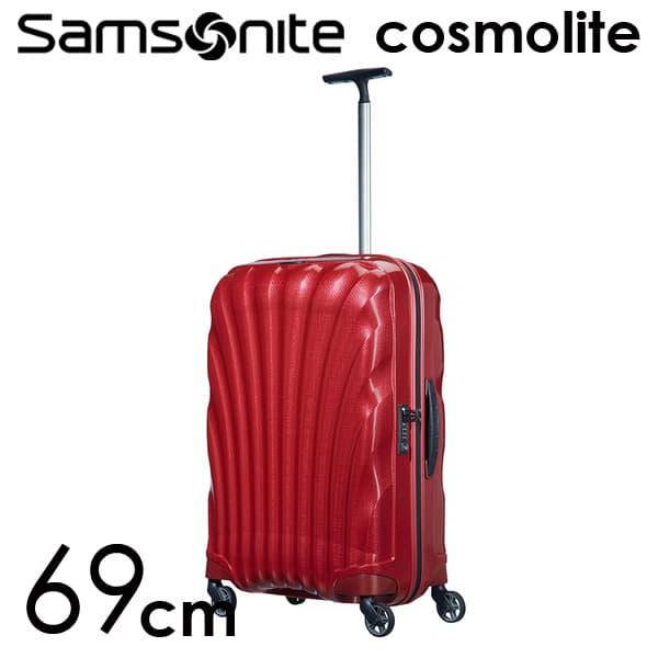 【期間限定ポイント10倍】サムソナイト コスモライト3.0 スピナー 69cm レッド Samsonite Cosmolite 3.0 Spinner V22-00-306 68L