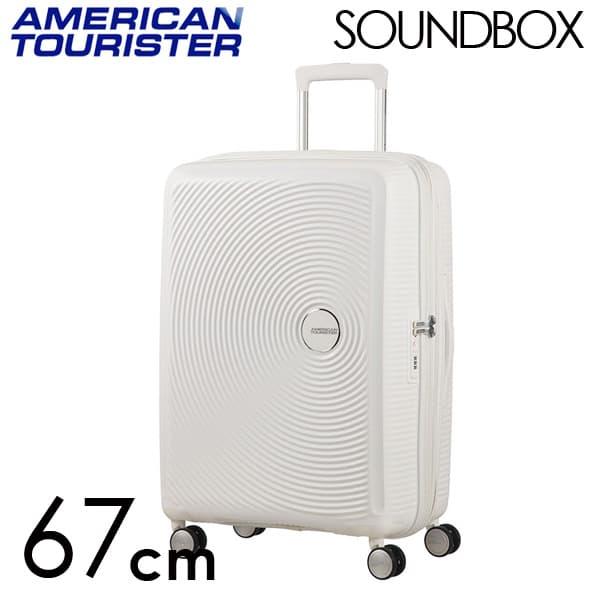 サムソナイト アメリカンツーリスター サウンドボックス 67cm EXP ピュアホワイト