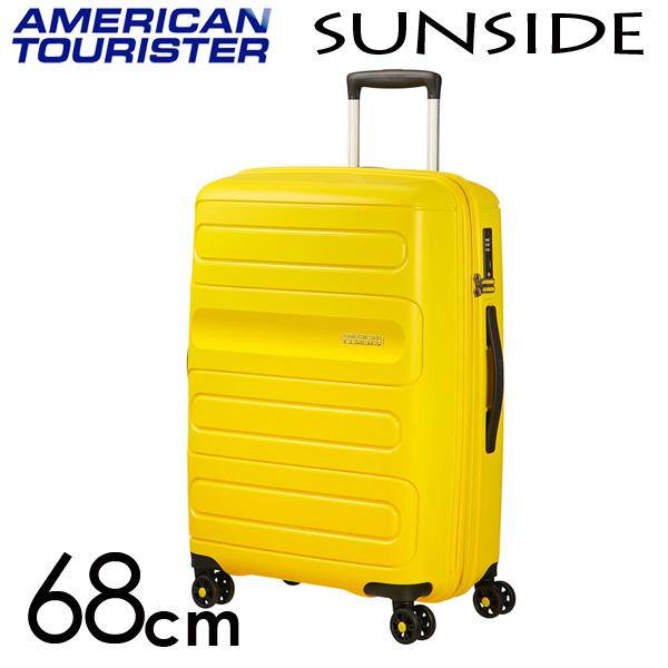 サムソナイト アメリカンツーリスター サンサイド 68cm 68cm サンシャインイエロー American Tourister Sunside Sunside Spinner Spinner 72.5L~83.5L EXP, 全品送料込み!コミコミ家具:e3ae7d45 --- sunward.msk.ru
