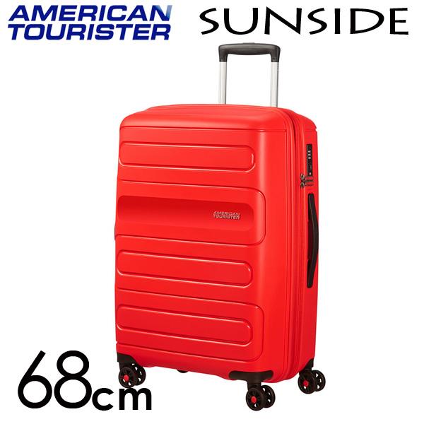 サムソナイト アメリカンツーリスター American サンサイド 68cm サンセットレッド American 68cm Tourister Spinner Sunside Spinner 72.5L~83.5L EXP, 成人式七五三かんざし 髪飾り本舗:0d044d7d --- sunward.msk.ru
