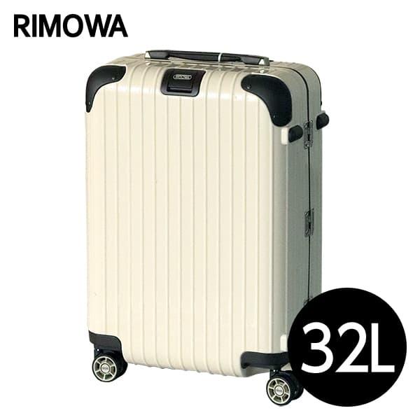 リモワ RIMOWA リンボ 32L クリームホワイト LIMBO マルチホイール スーツケース 881.52.13.4