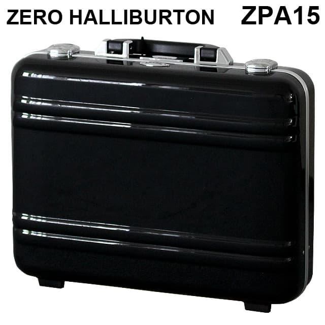 ゼロハリバートン ZERO HALLIBURTON クラシック ポリカーボネート アタッシュケース フレームタイプ ラージ ブラック B4対応 80635 ZPA15-BK