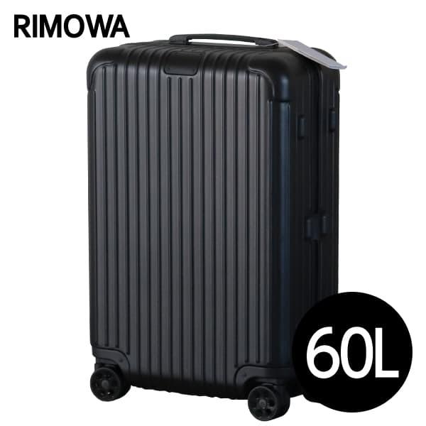 リモワ RIMOWA エッセンシャル チェックインM 60L マットブラック ESSENTIAL Check-In M スーツケース 832.63.63.4