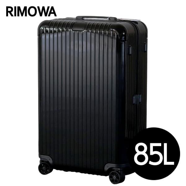 リモワ RIMOWA エッセンシャル チェックインL 85L グロスブラック ESSENTIAL Check-In L スーツケース 832.73.62.4