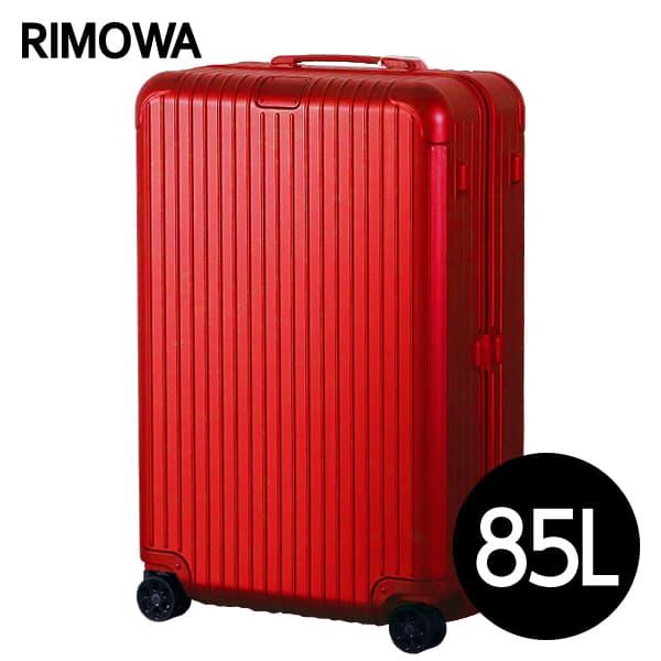 スーツケース チェックインL 832.73.65.4 Check-In エッセンシャル L RIMOWA グロスレッド ESSENTIAL 85L 【期間限定ポイント10倍】リモワ