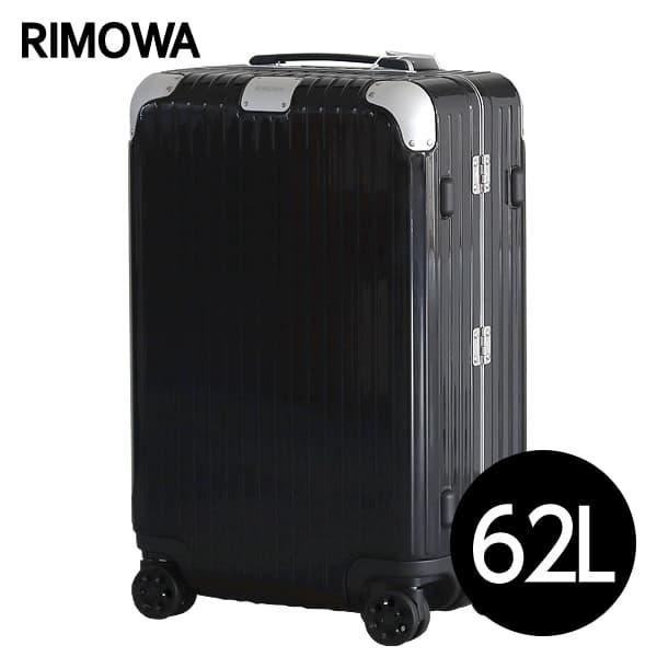 リモワ RIMOWA ハイブリッド チェックインM 62L グロスブラック Check-In M スーツケース 883.63.62.4