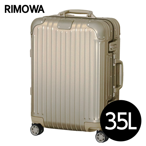 リモワ RIMOWA 925.53.03.4 オリジナル キャビン キャビン リモワ 35L チタニウム ORIGINAL Cabin スーツケース 925.53.03.4, 真岡市:c5cf6284 --- sunward.msk.ru