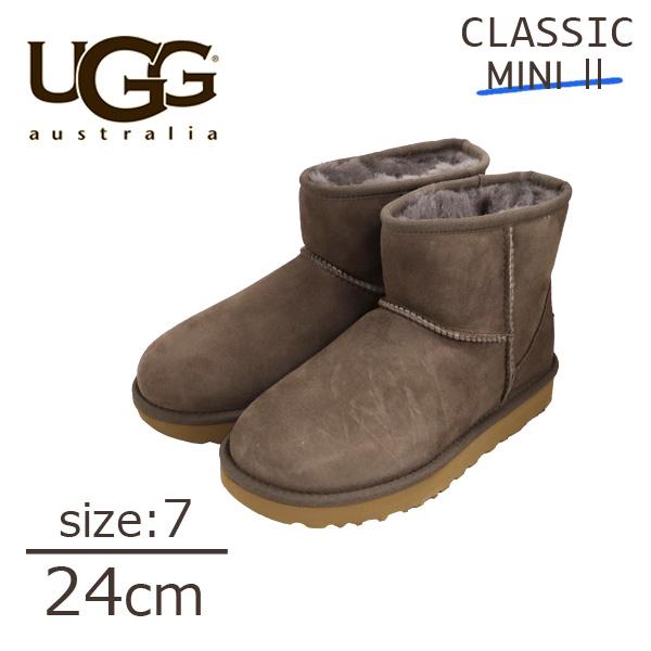 UGG モール II Mini 1016222 クラシックミニ Classic アグ 7(24cm) ウィメンズ ムートンブーツ