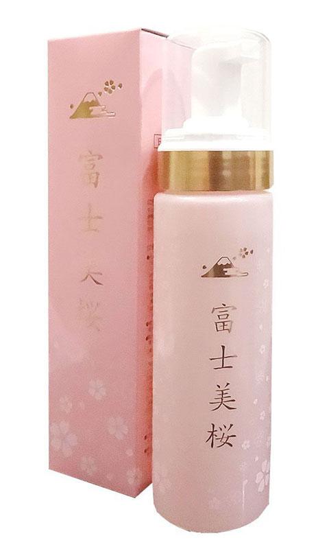 富士美桜ウォータークリーム (金箔入り) 200ml