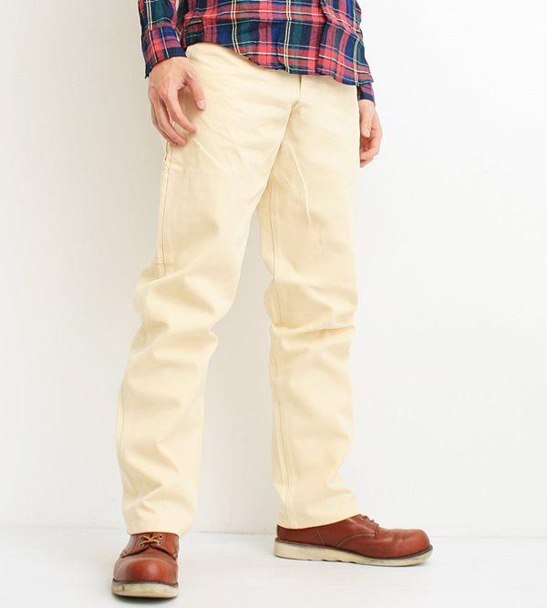 Stanley Stanley Stan Ray Karen Earls apparel Earl's Apparel gung ho GUNG HO work pants men's brand blue denim Hickory stripe casual work military made in the USA (NATURAL / natural) (23-STR001)