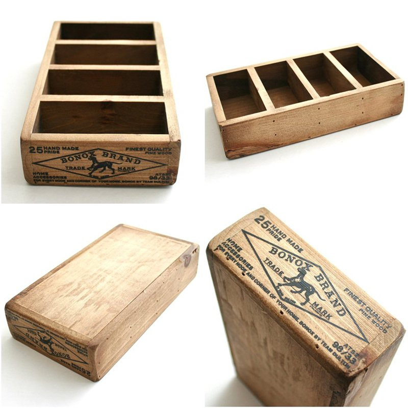 Rockingchair rakuten global market dalton dulton wooden wooden business card box 1 color reheart Images