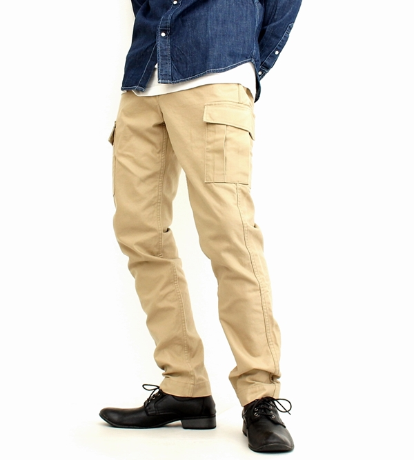 efa553238 RockingChair  Beige khaki (62-jb2402) made in Japan blue jeans JAPAN BLUE JEANS  cargo pant men brand military back satin F Teague underwear work pants slim  ...