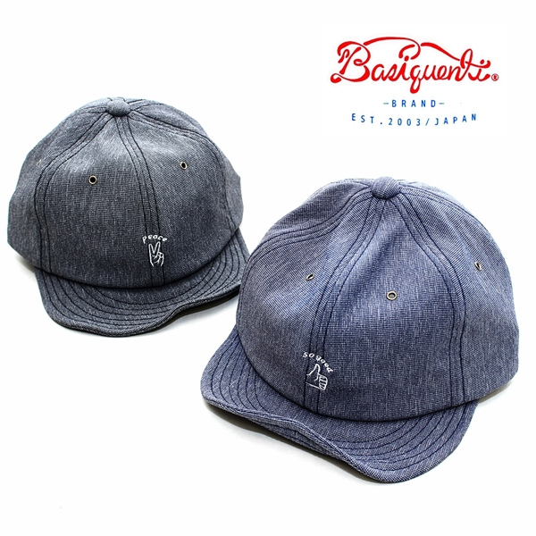 fe7b7a9d5ce63 RockingChair: To ボールキャップベーシックエンチ BASIQUENTI hand signature embroidery cap  men gap Dis unisex brand hat BB cap embroidery river up RIVER-UP ...