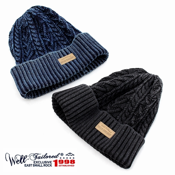 355bc12e789 ... knit hat cotton knit cable knitting fisherman watch cap watch cap  beanie indigo dyeing men gap Dis brand stylish casual American casual black  black navy ...